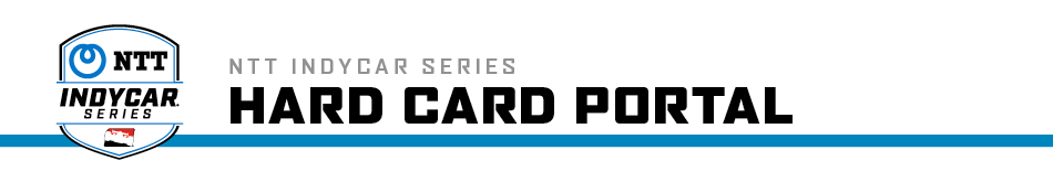 INDYCAR Hard Cards Header
